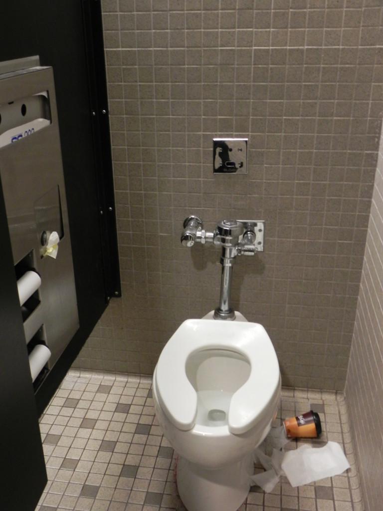 Bathroom trashcan