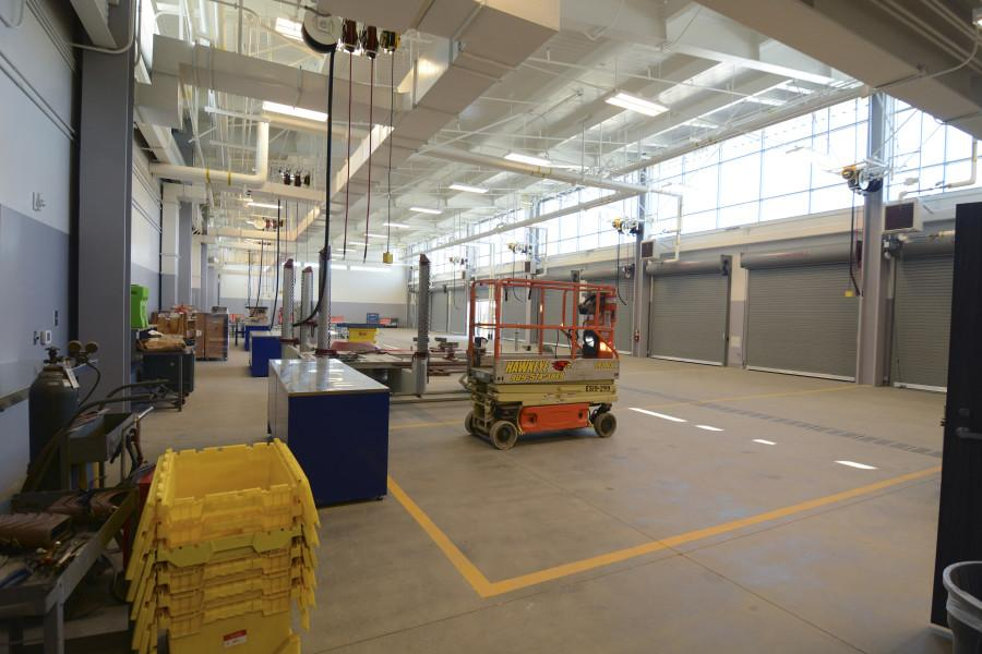 Center for Applied Technology opens to students