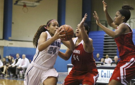 Women's basketball team downs LBCC, remain undefeated in conference