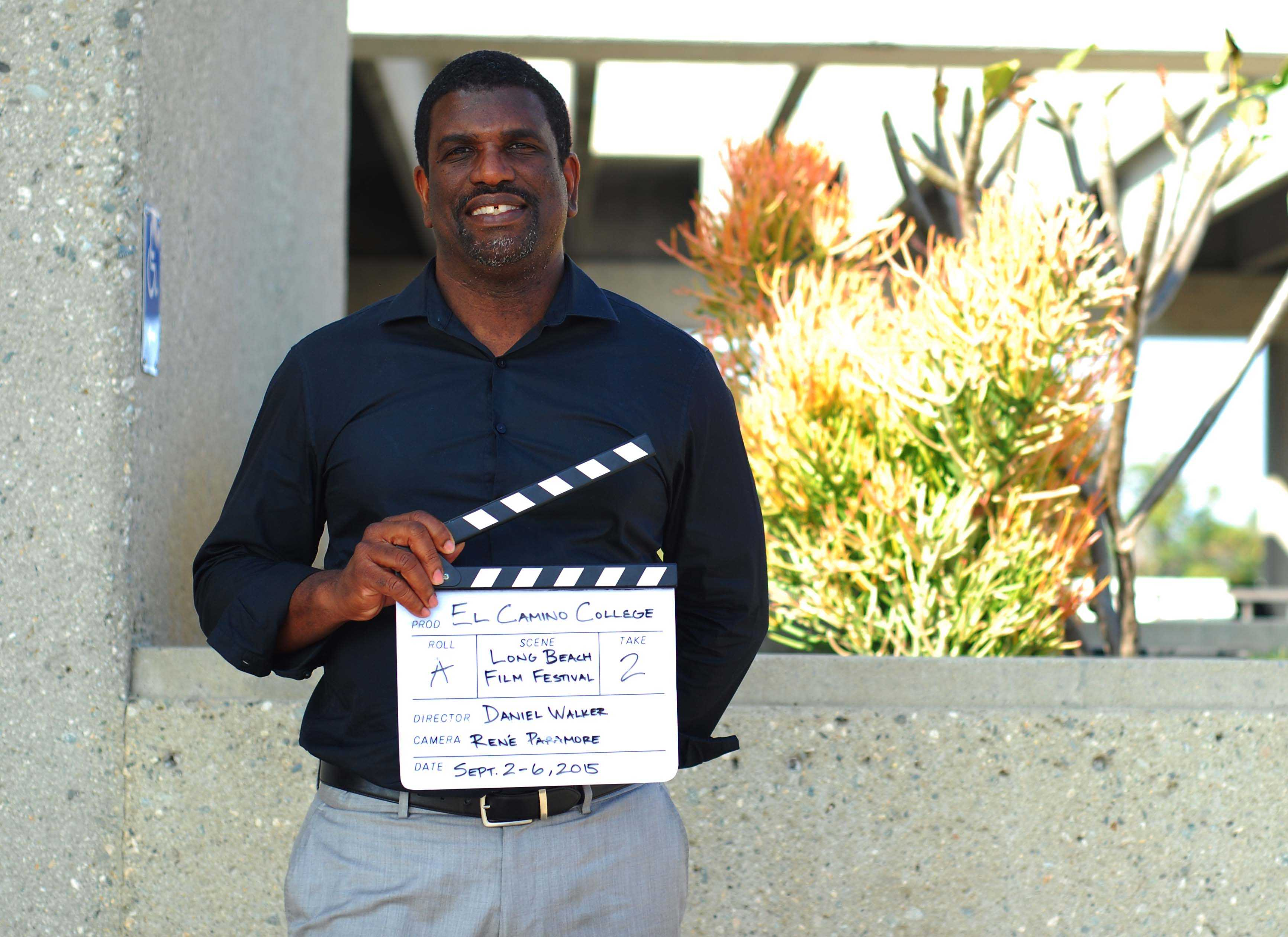 Daniel Walker, a history professor, is the founding director of the Long Beach Independent Film Festival. Photo credit: Rene Paramore