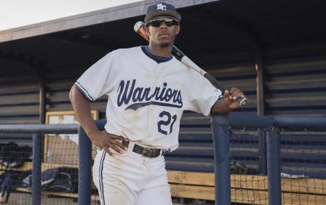 Left-fielder stands out for Warriors baseball