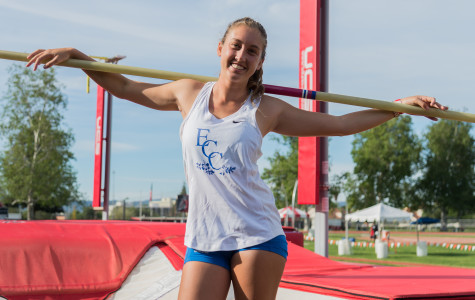 Beach city pole-vaulter reaches new heights