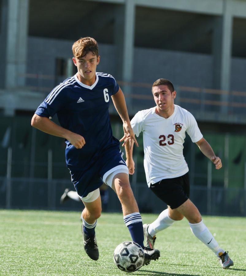 Men's soccer ties its second conference game of season