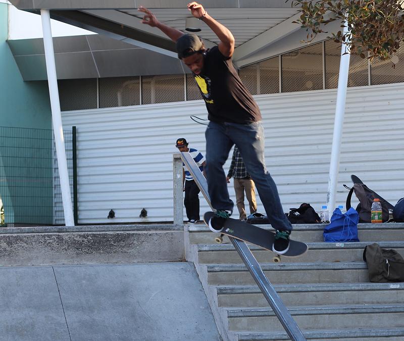 Skateboarder success: looking up to JJ Hamilton