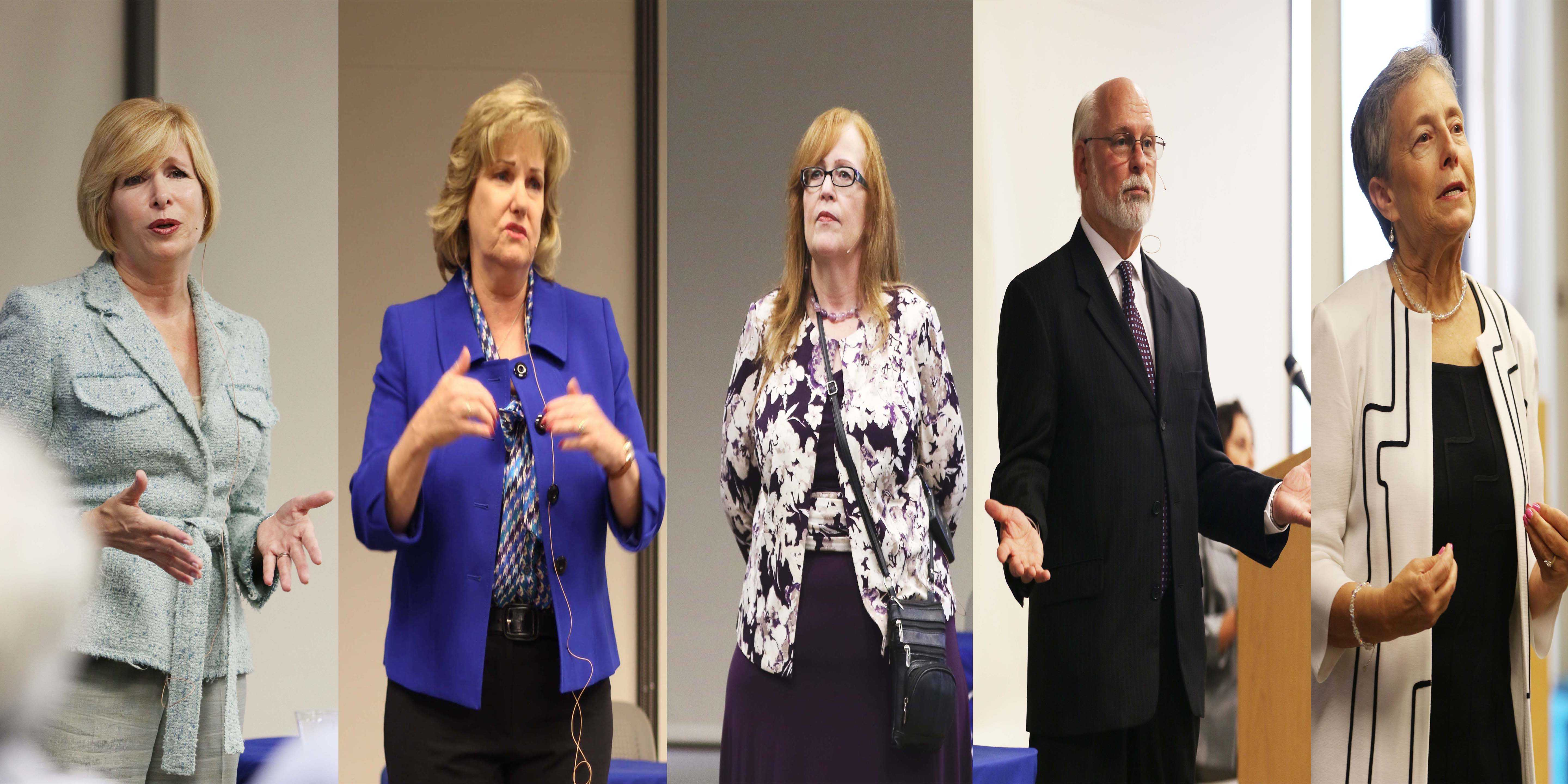Candidates present their plans for EC at presidential forums