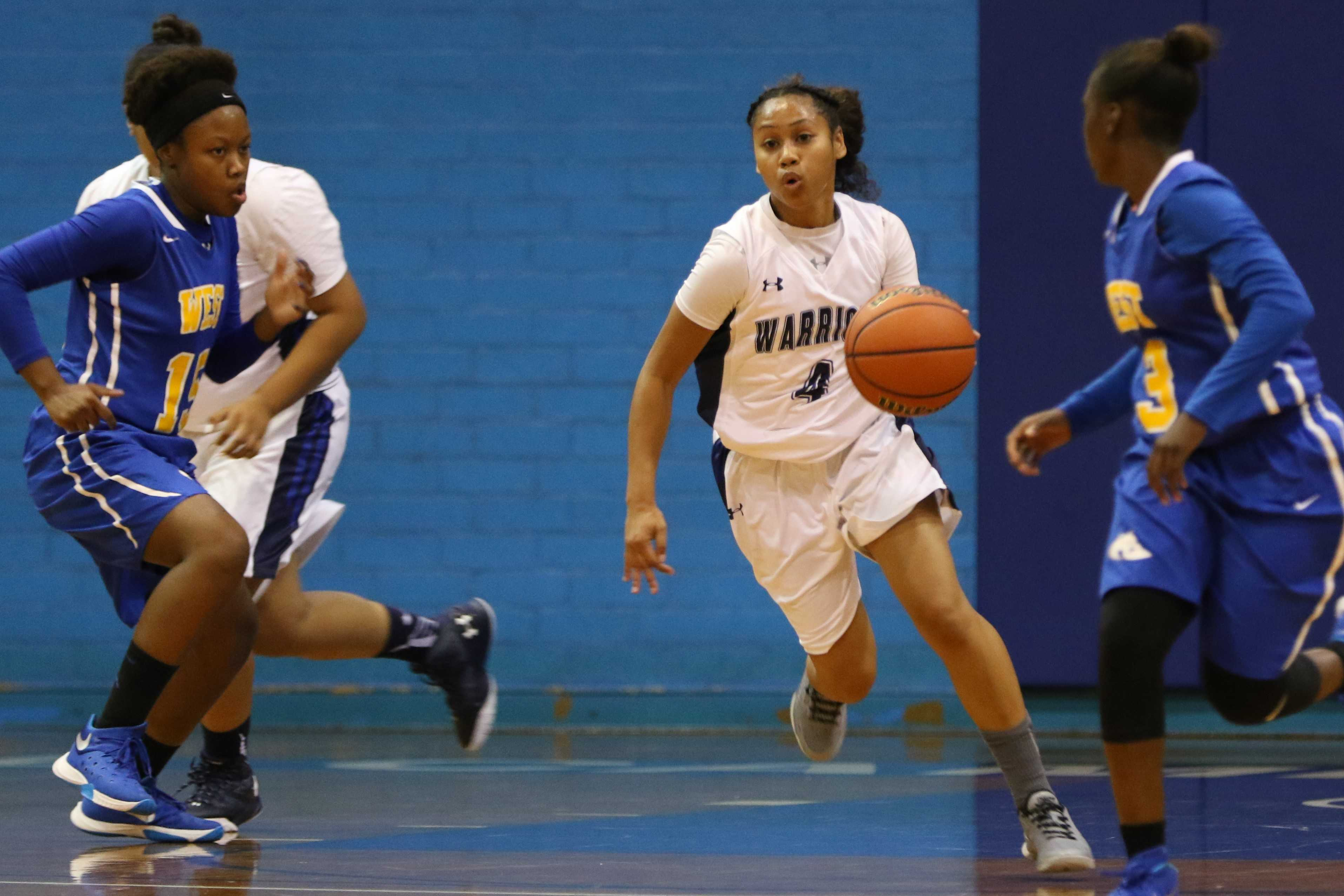 Women's basketball team takes home opener over West L.A. College