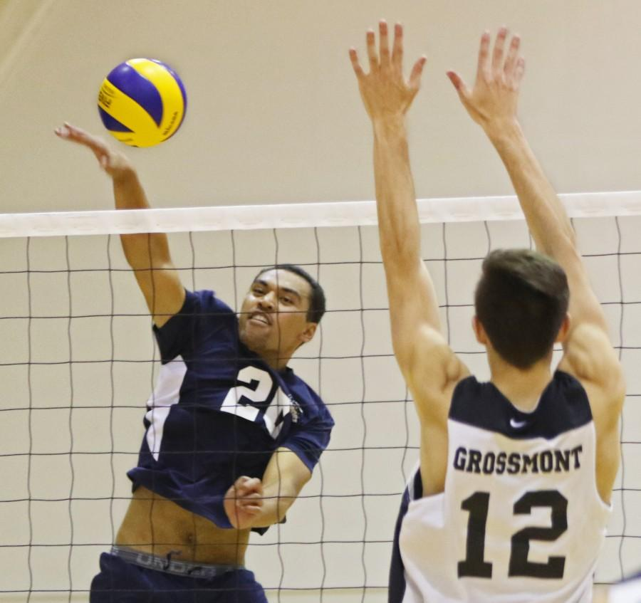 Men's volleyball falters at home against Grossmont College; fall to 2-4