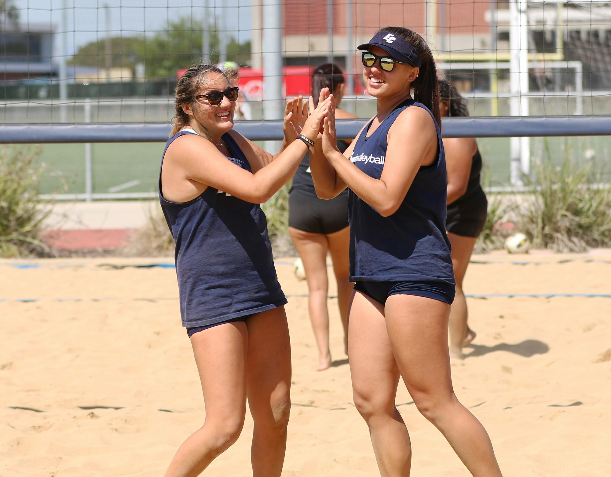 Scores: Beach volleyball team can't be beat; dominates Ventura and Rio Hondo colleges