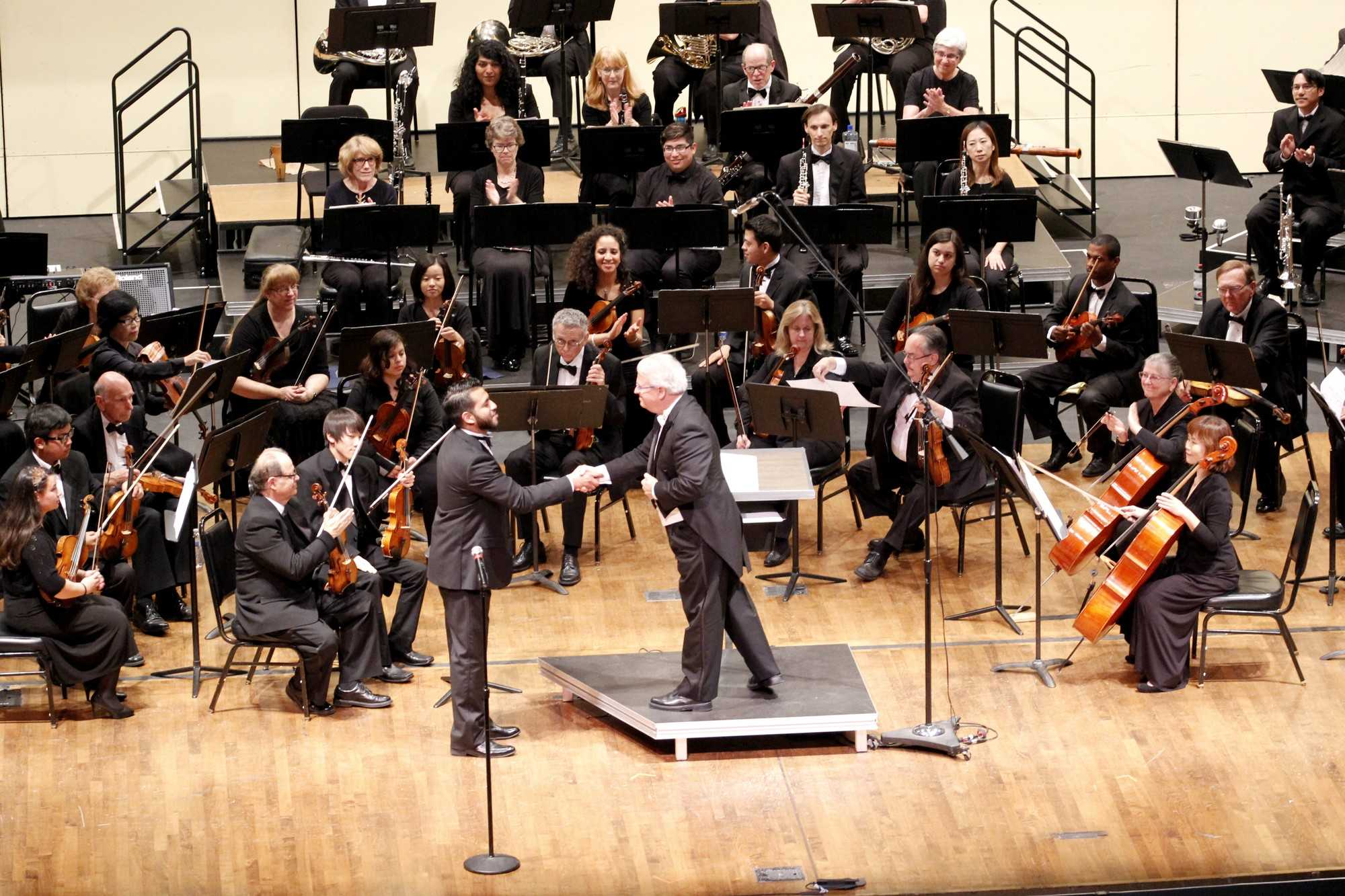 Instrumental students perform in Symphony Orchestra