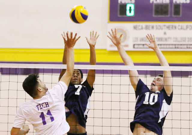 Men's volleyball team wins by forfeit against L.A. Trade Tech College