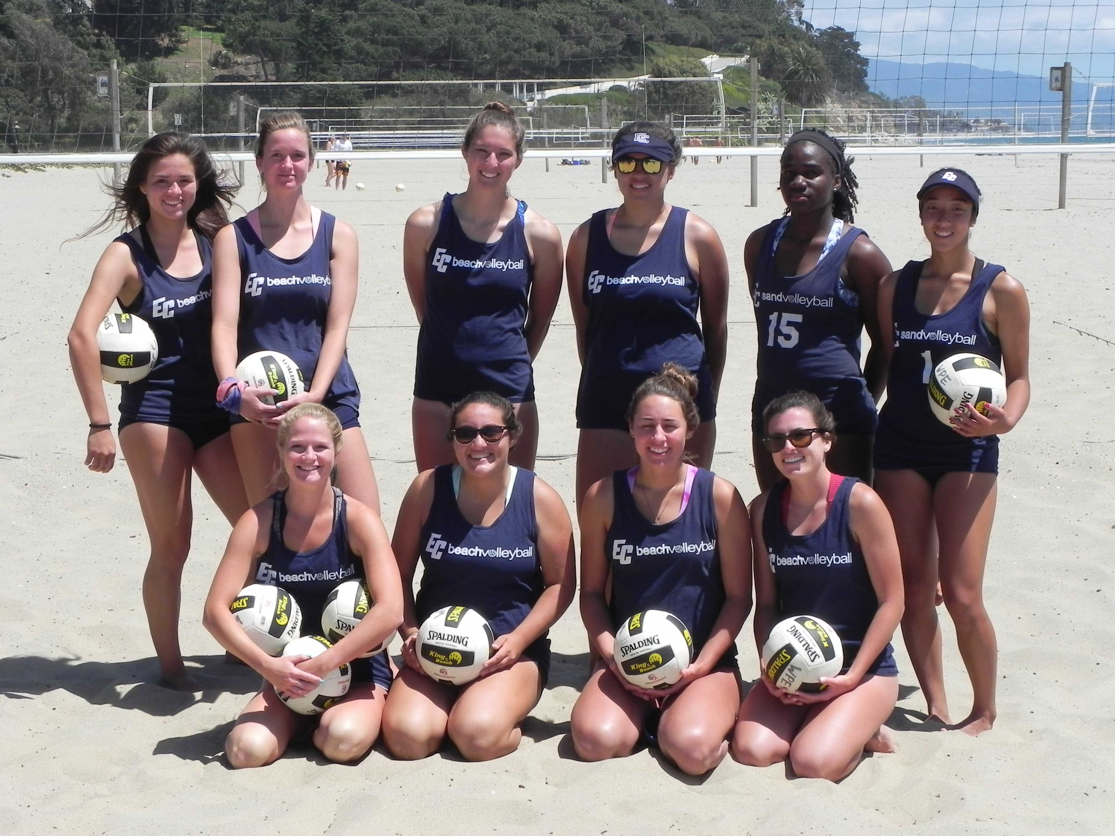 Up next for the beach volleyball team: EC will host first round of individual playoffs