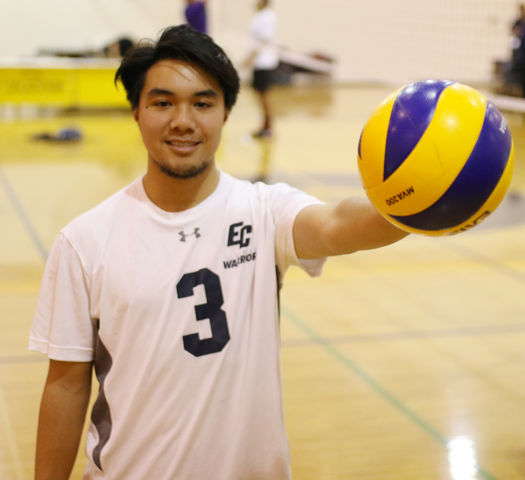 Athlete of the Week: Andre Labayen digs for men's volleyball