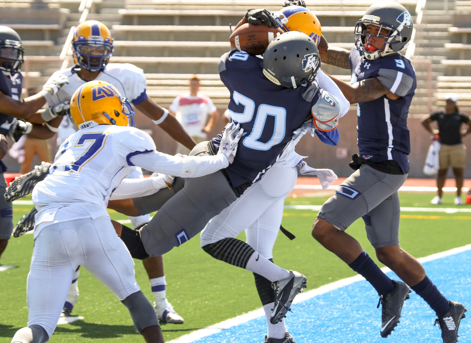 El Camino football opens the season with 41-21 win over L.A. Southwest College