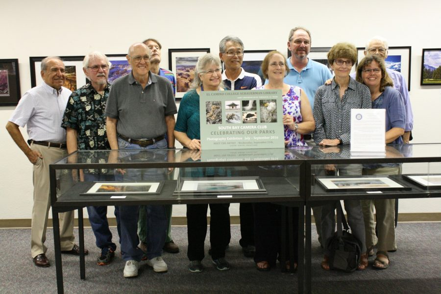 """Celebrating Our Parks"" photo exhibit decorates Library walls"