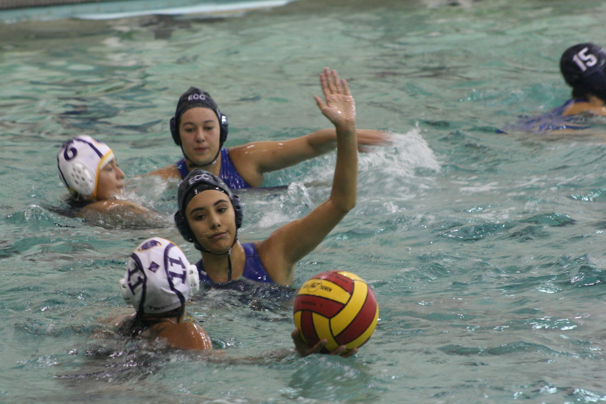 El Camino women's water polo defeats L.A. Trade Tech in a landslide
