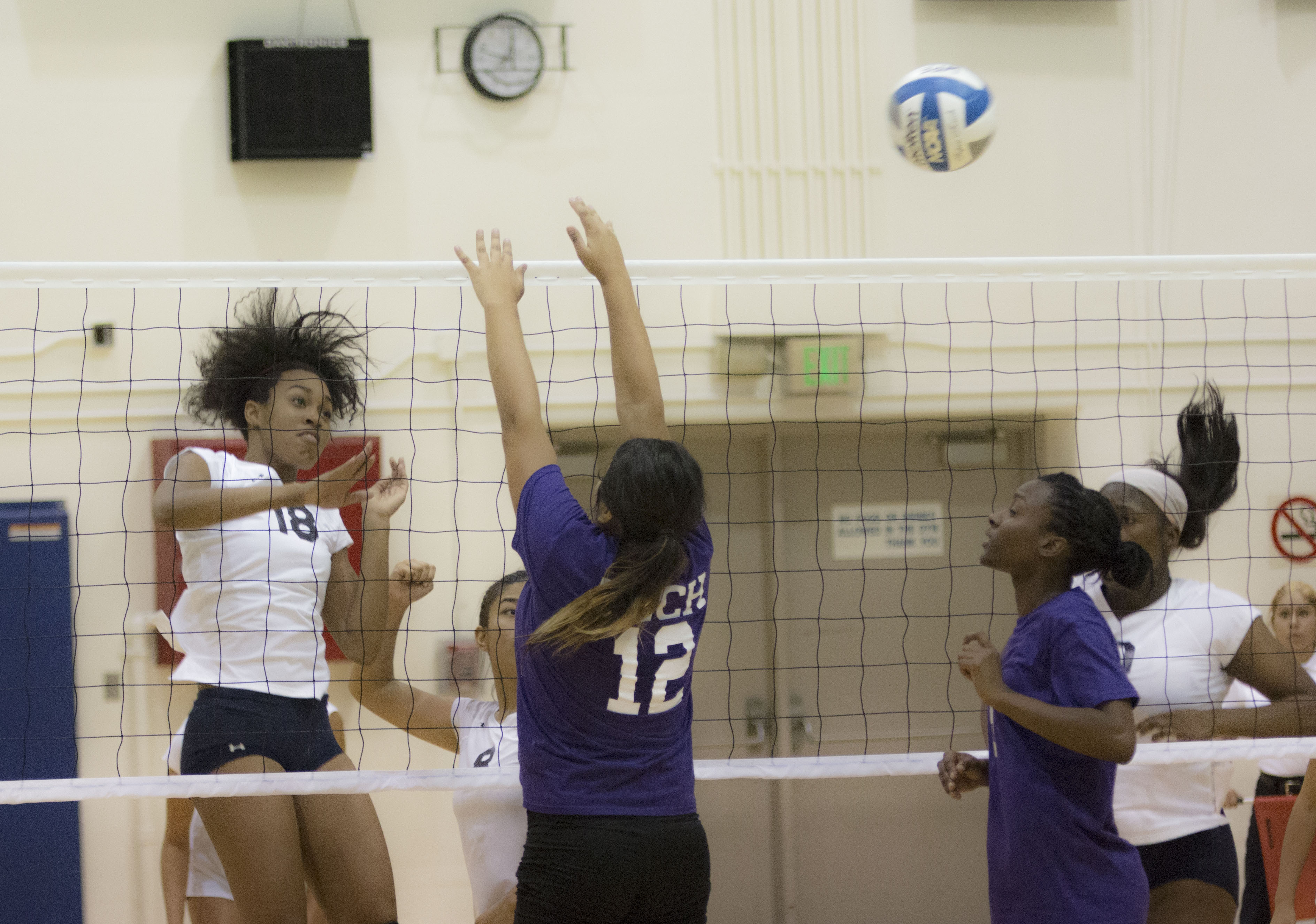 El Camino women's volleyball team outperforms L.A. Trade Tech College in sweep
