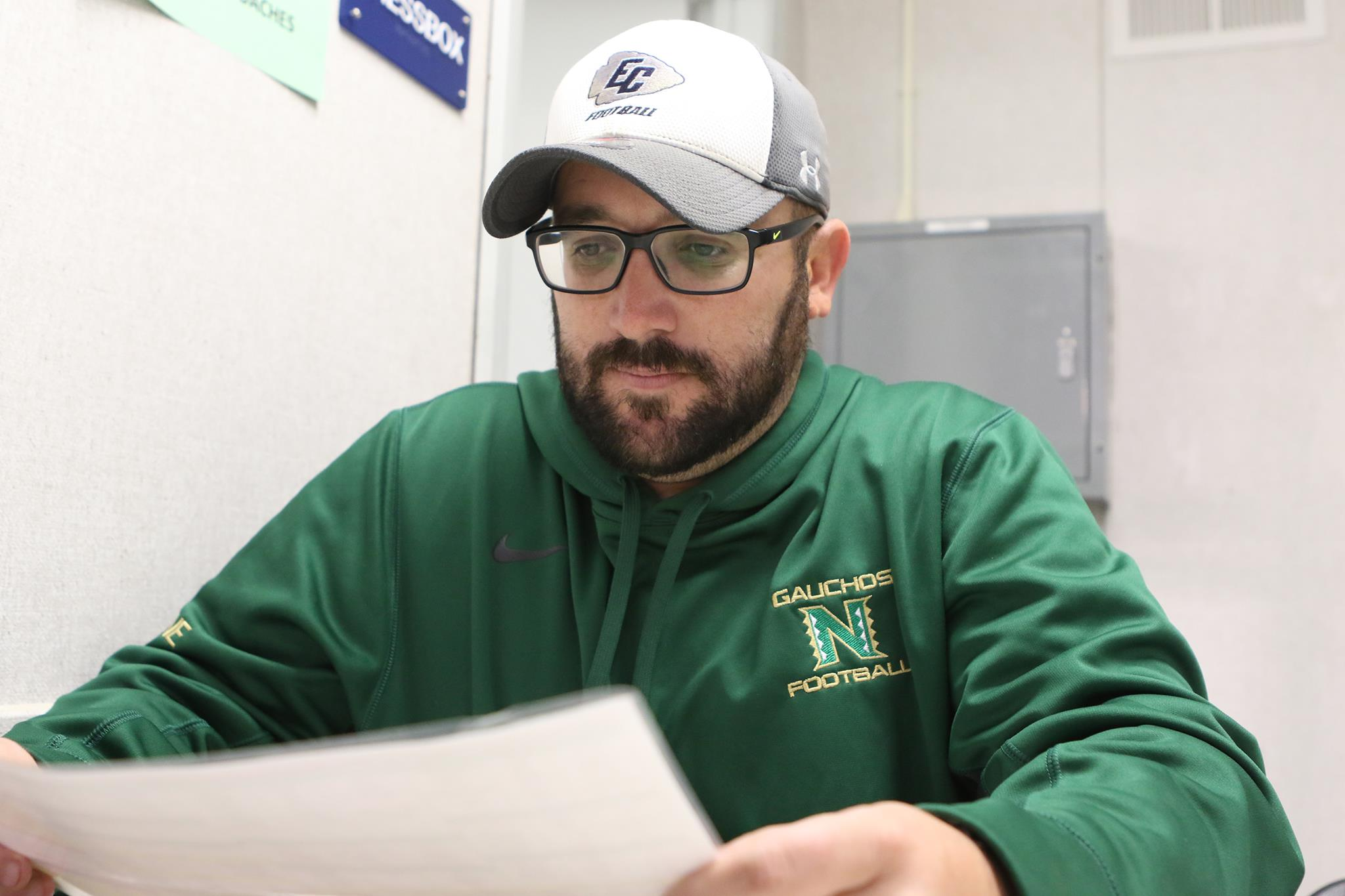 New El Camino offensive coordinator brings championship pedigree to the football program