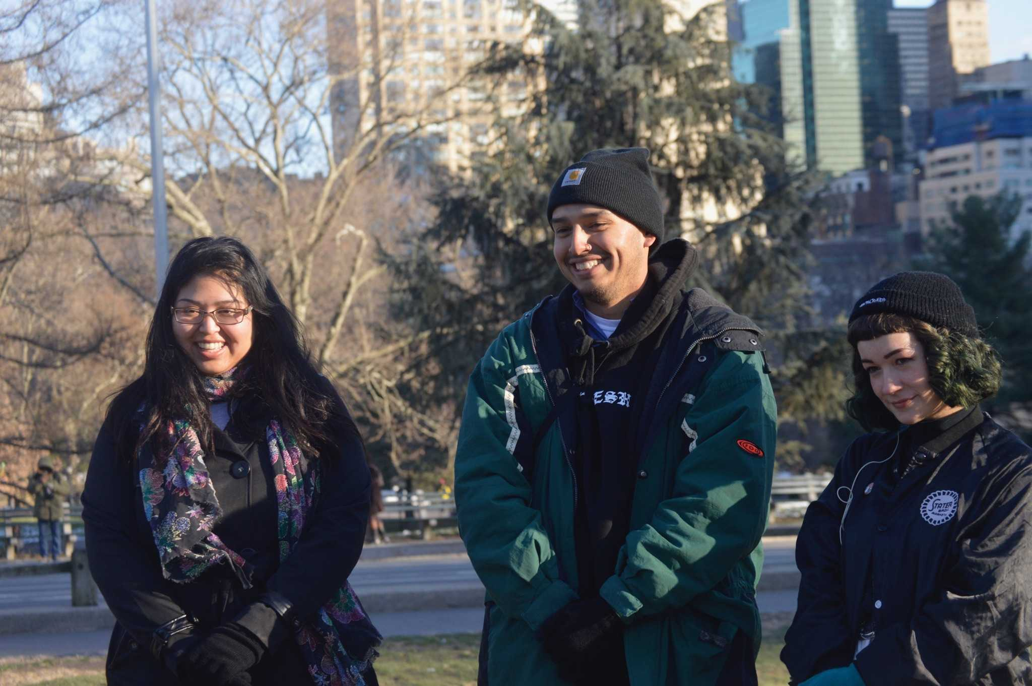 Nohemy Barrera, Jorge Villa and Emma DiMaggio went to Central Park in New York City before the snowstorm Stella hot the east coast. The three are staff writers for The Union, El Camino's student-run newspaper.