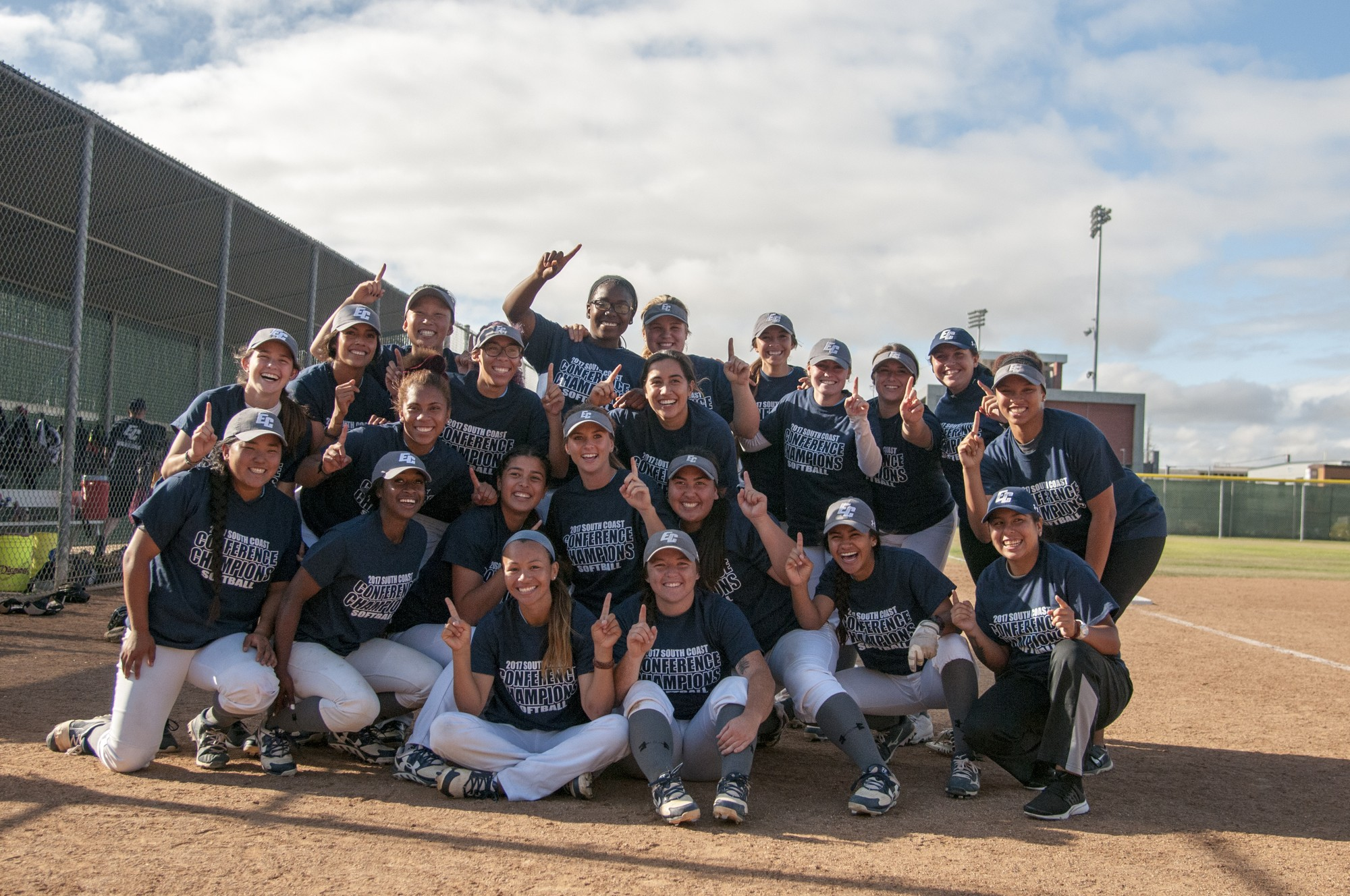 El Camino softball team earns second conference title in three years