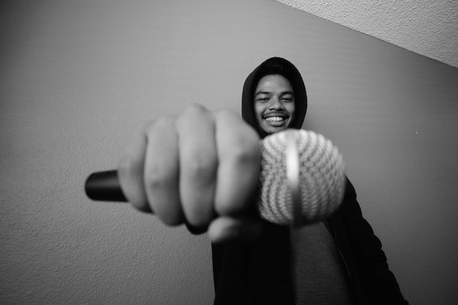 Rapper hopes to make a difference through his music on SoundCloud
