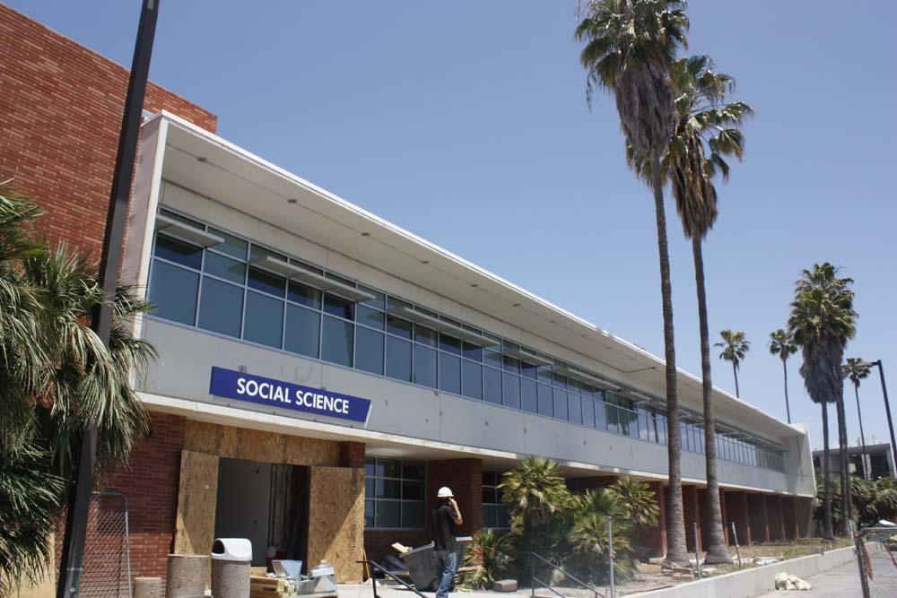 El Camino College >> Social Science Building Gets Face Lift El Camino College Union