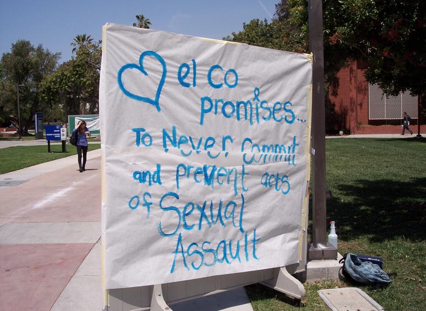 ECC Feminist Alliance Club hosts Sexual Assault Awareness month presentation