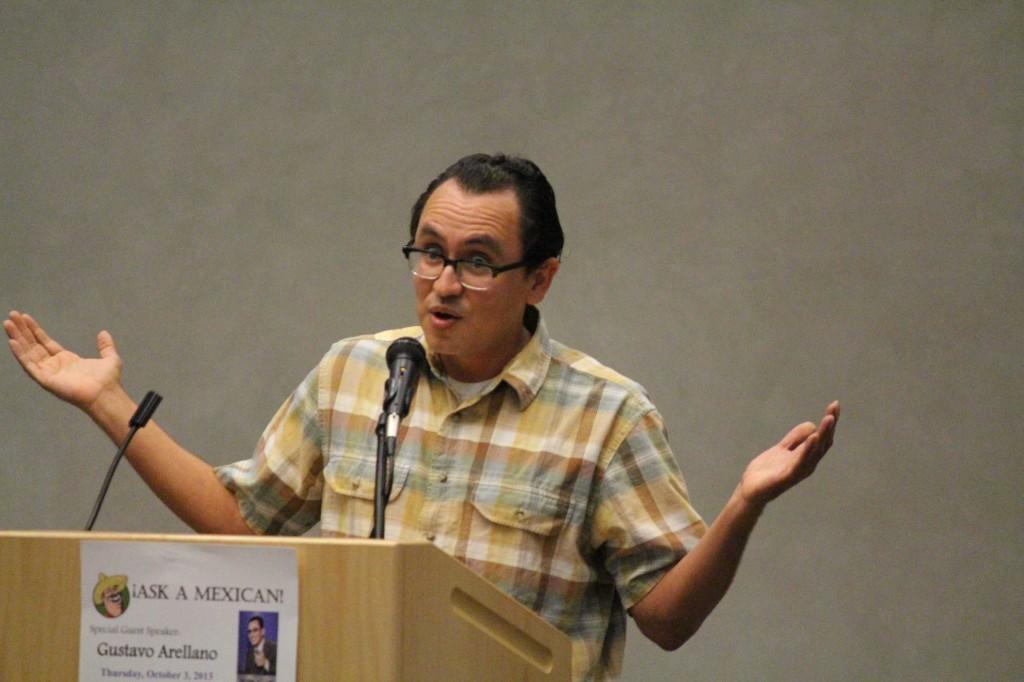 'Ask A Mexican' columnist visits EC