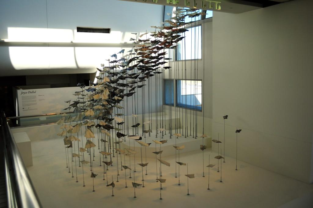 'Elevate' exhibit at LAX gives artist larger audience