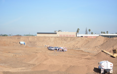 This photo is what Murdock Stadium looks like now. Crews are working on making a new stadium that will take its place by 2015.Photo credit: John Fordiani