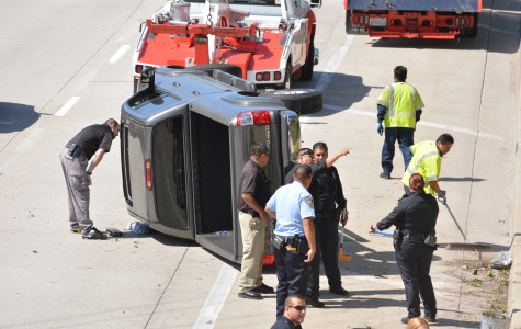 Student loses control of vehicle, plunges onto Redondo Beach Boulevard