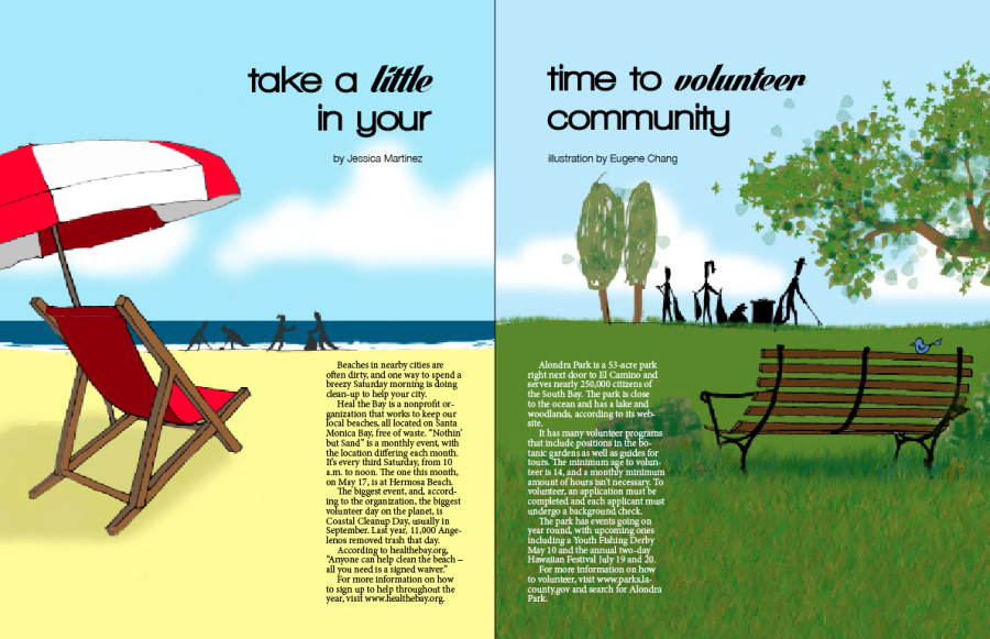 Take a little time to volunteer in your community