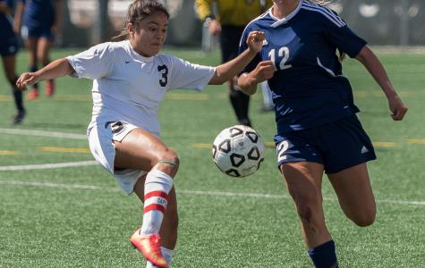 Women's soccer team can't handle Lady Eagles' late surge in 2-0 loss