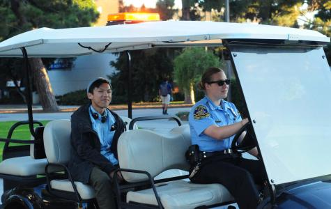 Campus shuttle service operates to ensure student safety