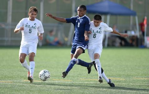The EC men's soccer team nets two in shutout victory over East Los Angeles College
