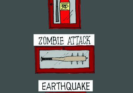 Earthquake drills seem shakey