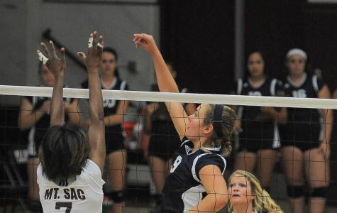 EC women's volleyball team rallies to beat  Mt. SAC in five games