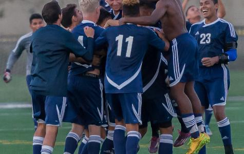 EC men's soccer team ties in finale clinching SCC title