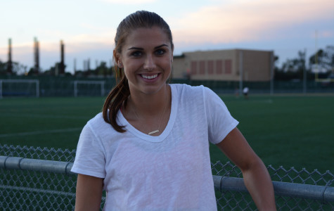 US soccer's Alex Morgan, more than a star athlete to EC girls