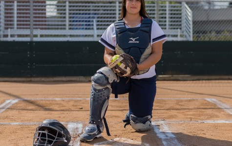 Softball catcher a huge hit for the Warriors