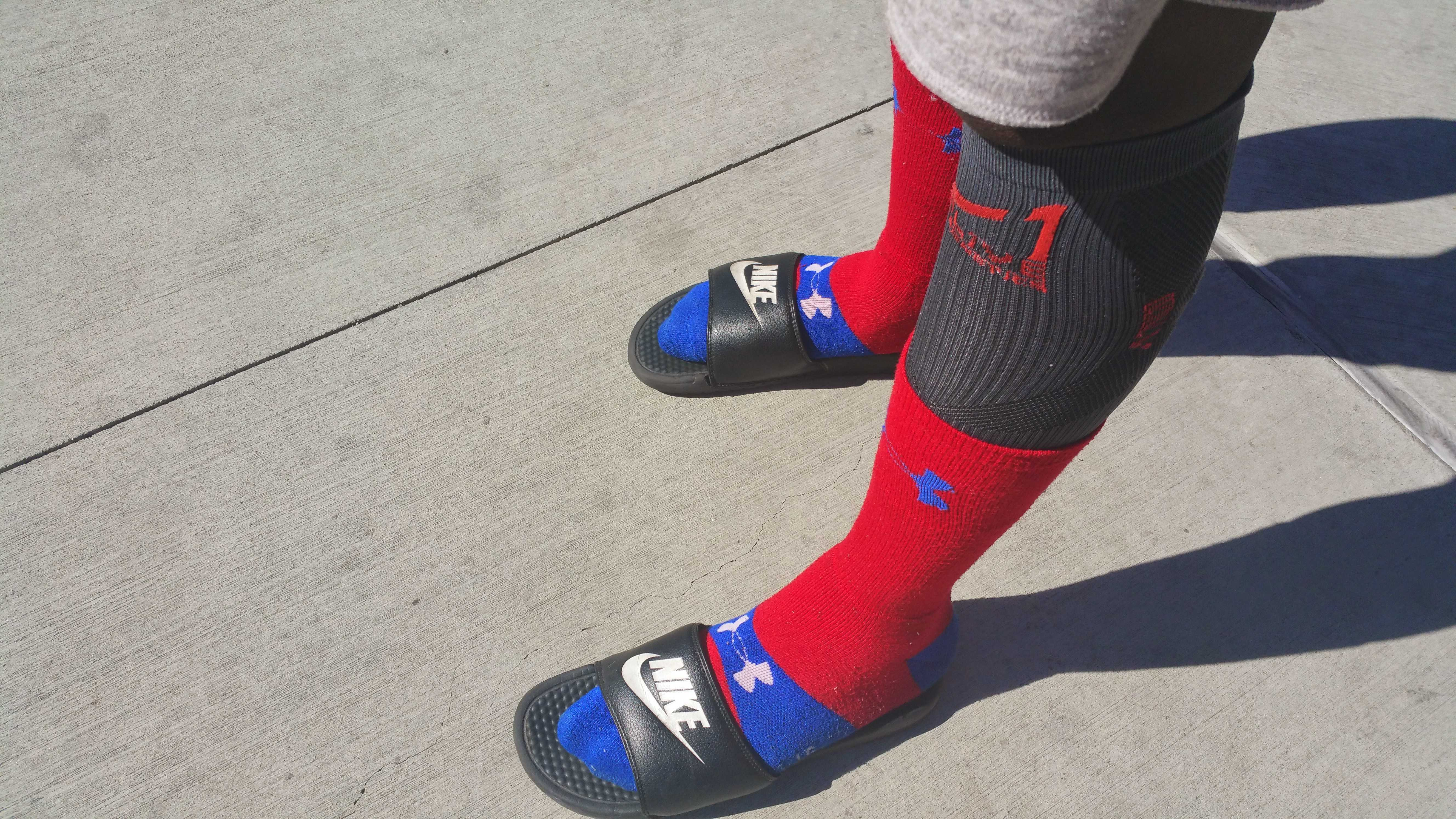 8d1d5a6610c3 Socks and sandals make their stand for both fashion statements and ...