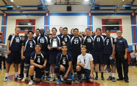 Men's volleyball team finishes season as state runner-up