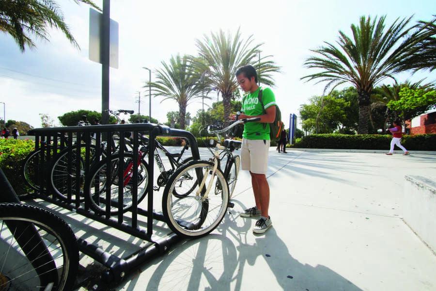 Bike thieves hit campus bike racks for quick fix