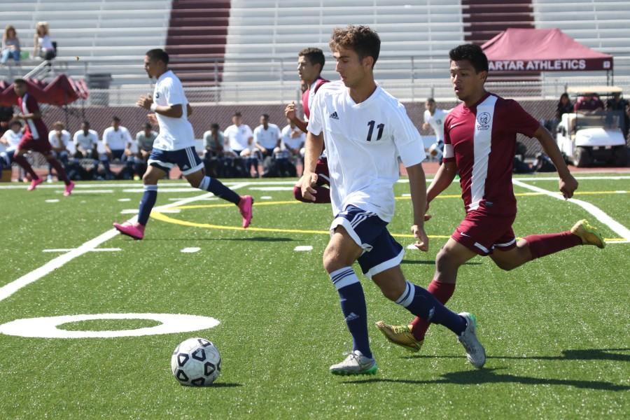 Men's soccer draw with ECC Compton Center – El Camino