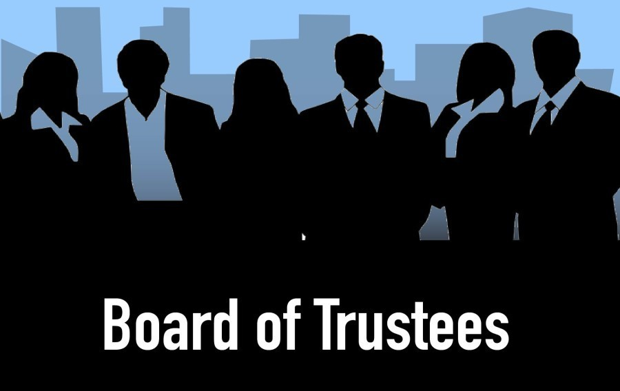 The board of trustees hasn't selected  the next president, at this point anything is possible'