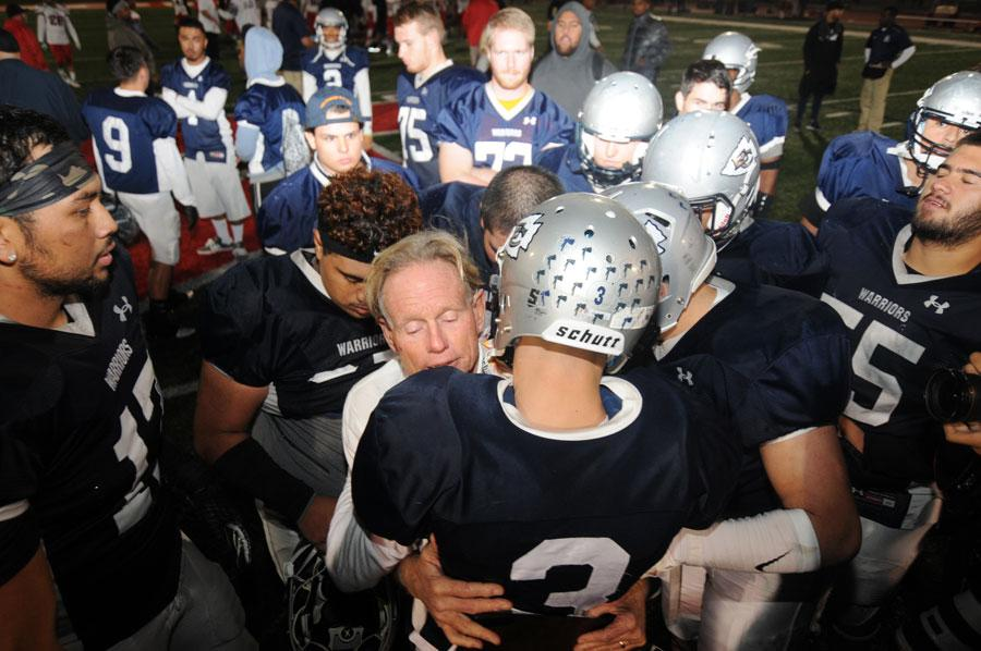 Football defeated in Featherstone's final game against Long Beach