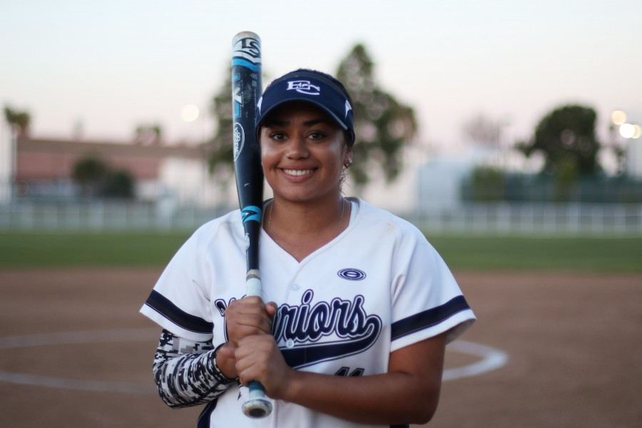 Maleigha Quintero is the third baseman and catcher for the softball team. She leads the team with a total of 12 hits and nine RBIs in eight games played this season.