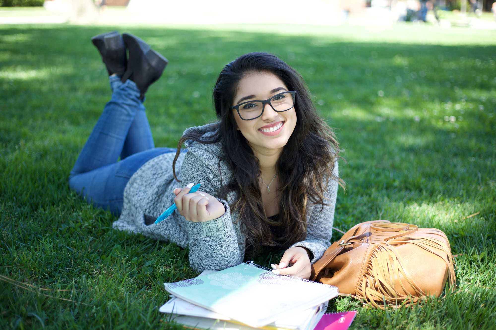 Yisel Cabrera, 19 years old with a major in communication, has been attending El Camino College for two years. Photo credit: Gabriela Better