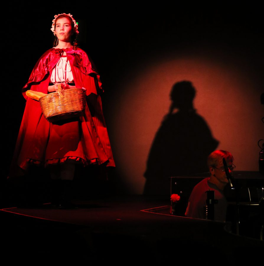 Actress Chloe Carroll portrays Little Red Riding Hood in El Camino's upcoming production based on the hit play,