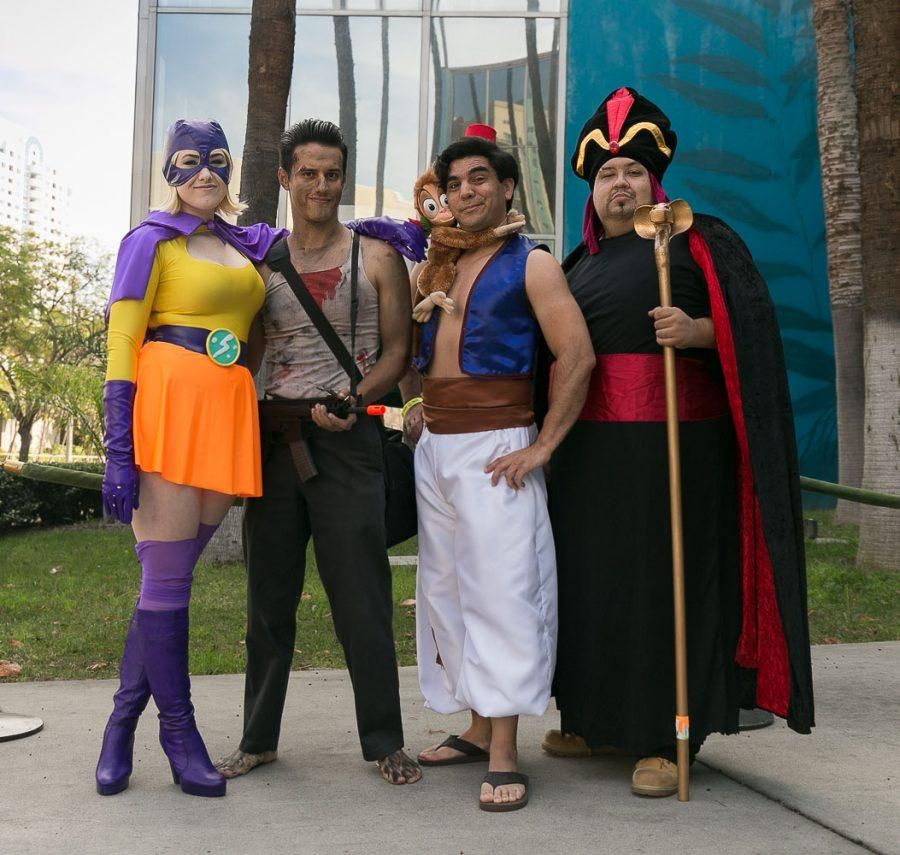Cosplay at the Convention Center in Long Beach