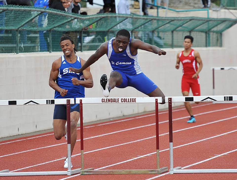 Track and field unhindered with rain at Glendale Invitational